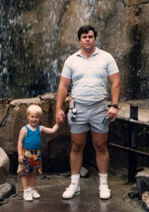 Damon Duncan and Terry Duncan when Damon was about 3 years old.